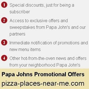 Papa John S Coupons And Promo Codes